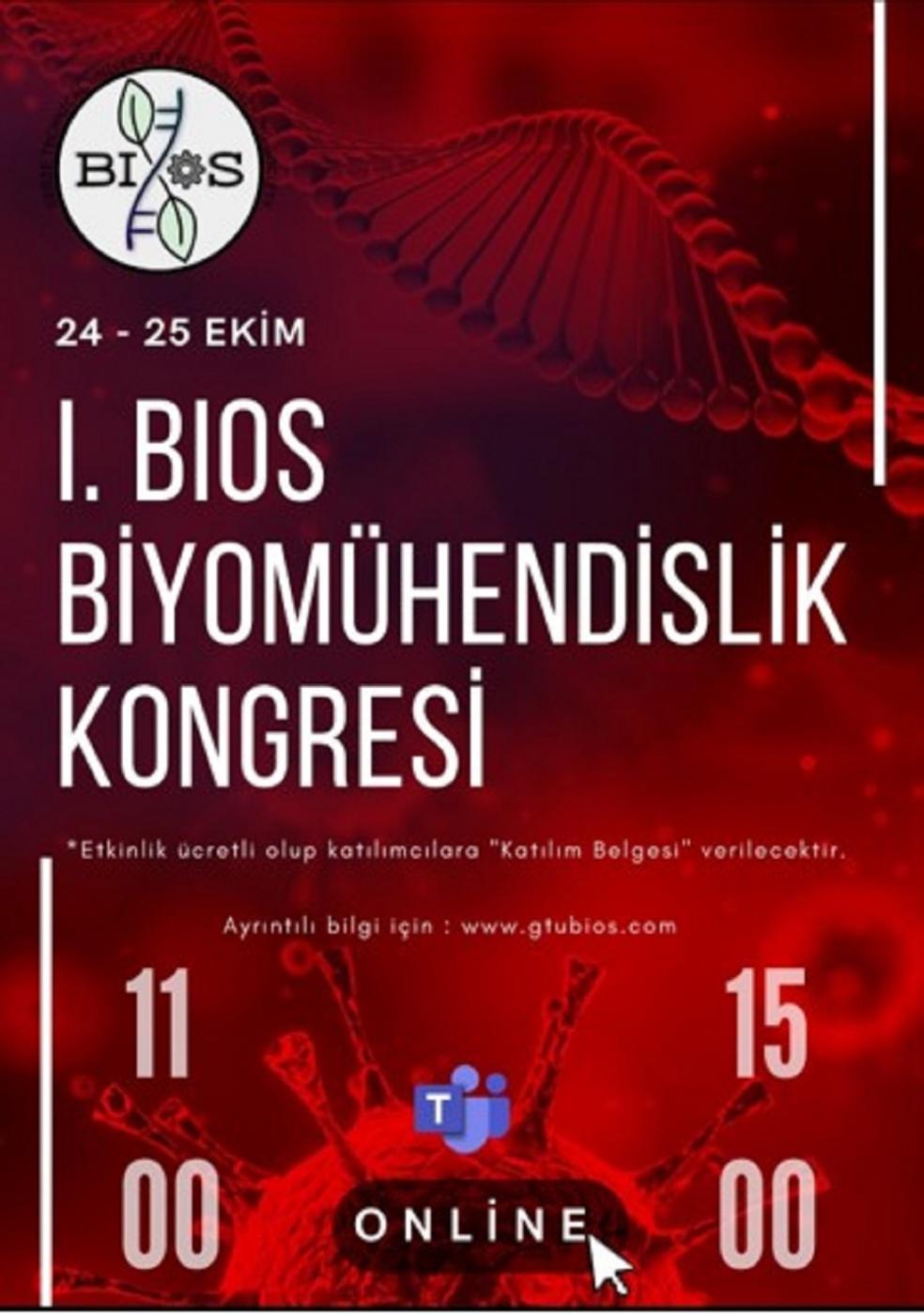 I. BIOS Biyomühendislik Kongresi