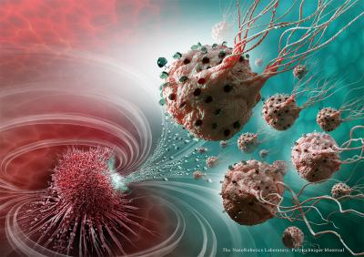 Legions of nanorobots target cancerous tumors with precision