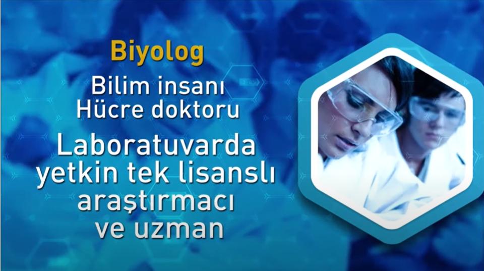 """16 Nisan 2020 Biyoloji Yılında """"BİYOLOGLAR GÜNÜ KUTLU OLSUN"""""""