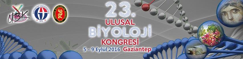 23. Ulusal Biyoloji Kongresi