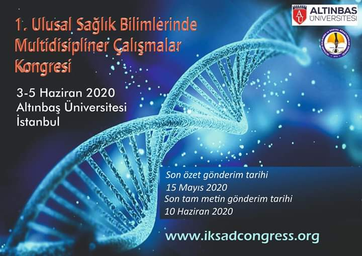1. Ulusal Sağlık Bilimlerinde Multidisipliner Çalışmalar Kongresi