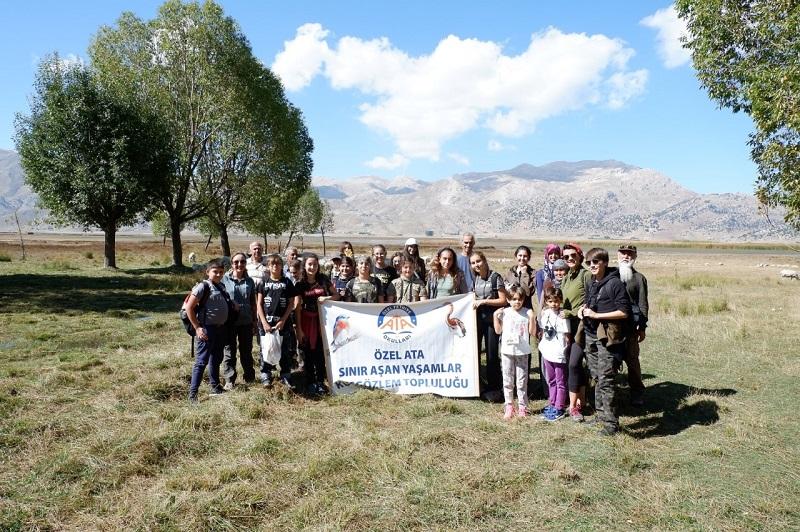25. Avrupa Kuş Gözlem Günü'nün Fethiye - Girdev Yaylasında da Tamamlandı