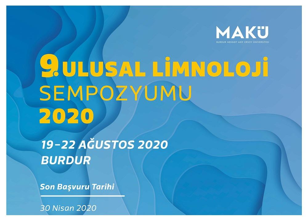 9. Ulusal Limnoloji Sempozyumu 2020
