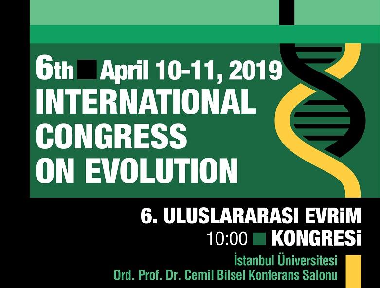 6TH INTERNATIONAL CONGRESS ON EVOLUTION