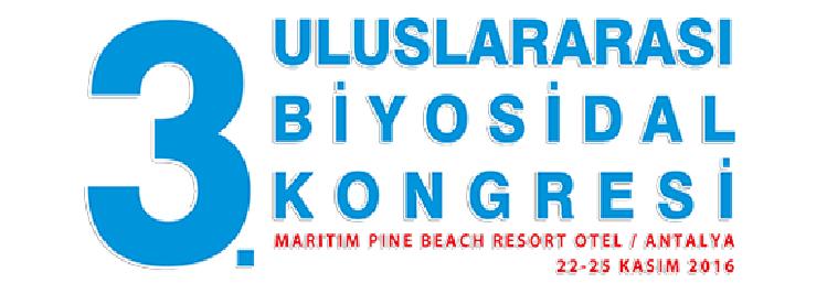3. Uluslararası Biyosidal Kongresi
