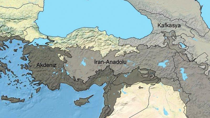 Jeofiziksel değil, çevresel bir bariyer: Anadolu Diyagonali