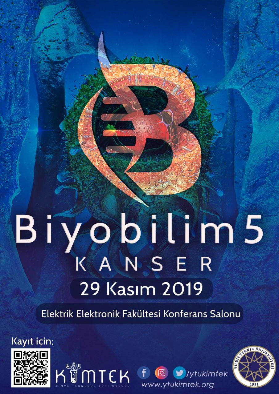 """Biobilim 5 Etkinliği """"KANSER"""""""