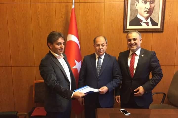 Dernek Yöneticileri Sağlık Bakanı Sayın Prof. Dr. Recep Akdağ İle Görüştüler.