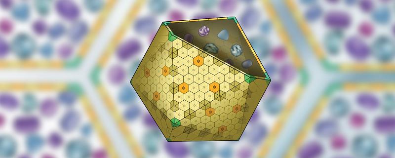 Bakterilerde keşfedilen İkozahedral mikrokompartmanların yapısı