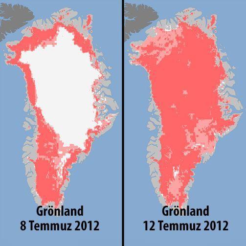 Grönland tükeniyor, biz tehlikenin farkındayız!