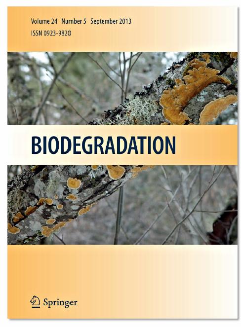 """İmpact faktörü yüksek olan """"Biodegradation dergisi"""" """" biosurfactant konusu"""" içeren çalışmalar için özel bir sayı çıkarıyor."""