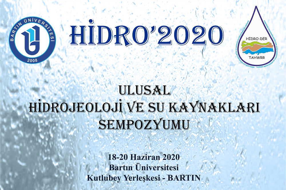 Hidrojeoloji ve Su Kaynakları Sempozyumu (HİDRO'2020)
