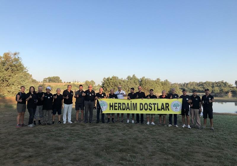 25. Avrupa Kuş Gözlem Günü'nü KKTC-Gazimağusada da tamamlandı.