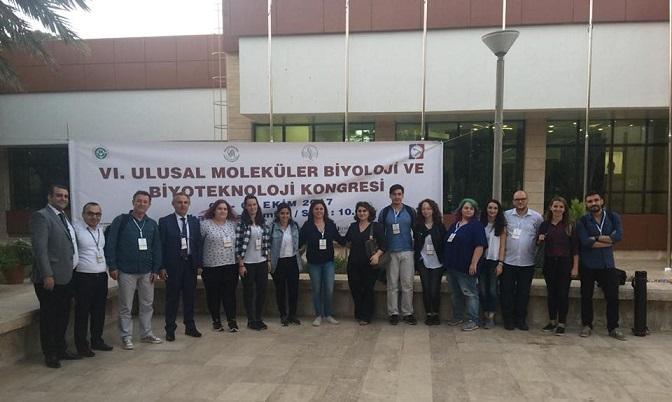 6. Ulusal Moleküler Biyoloji ve Biyoteknoloji Kongresi Başarı ile Tamamlandı.