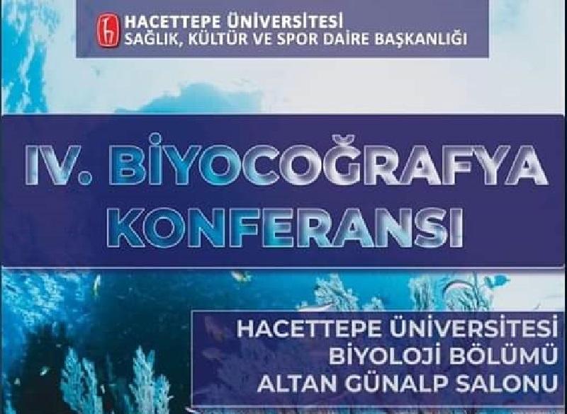 IV. Biyocoğrafya Konferansı