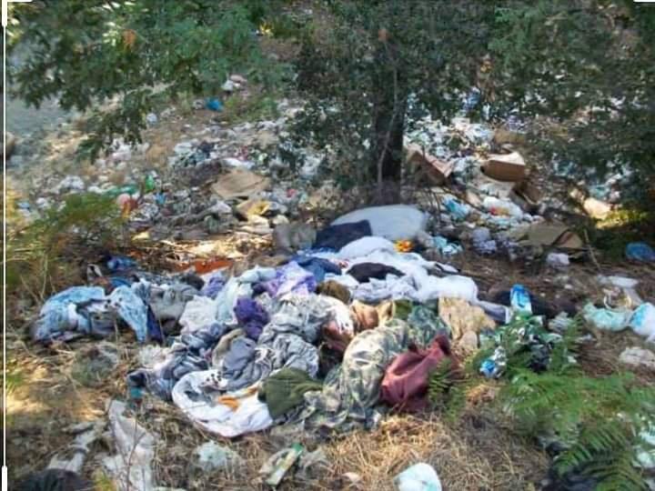 Ormanlarımız çöplük değildir.