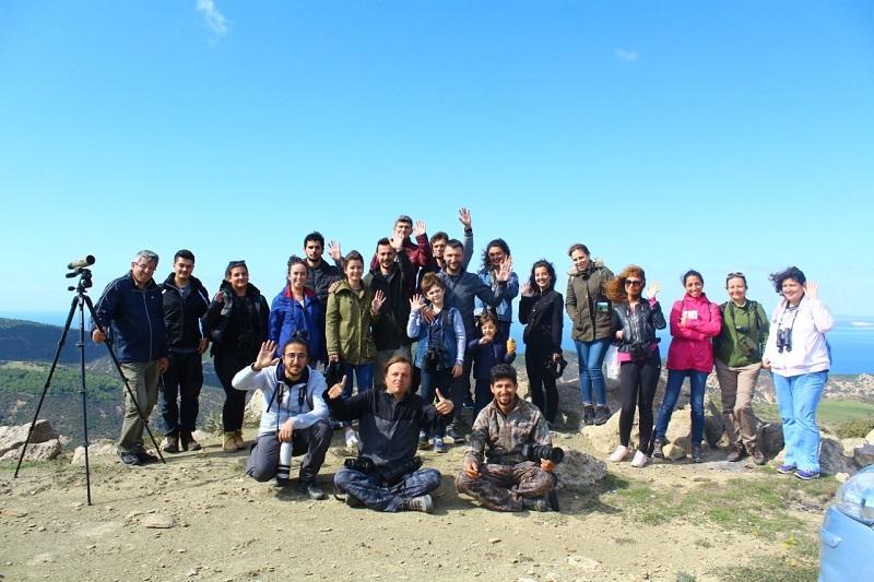 Avrupa Kuş Gözlem Günü'nü Çanakkale -Kavak Deltasında da tamamlandı